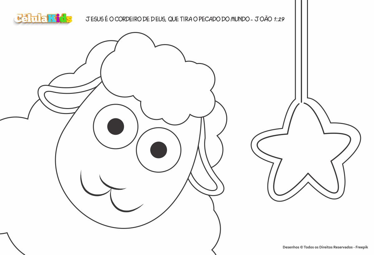 Sou uma ovelha de Jesus - Para crianças