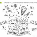 A Palavra de Deus - Desenhos para Colorir