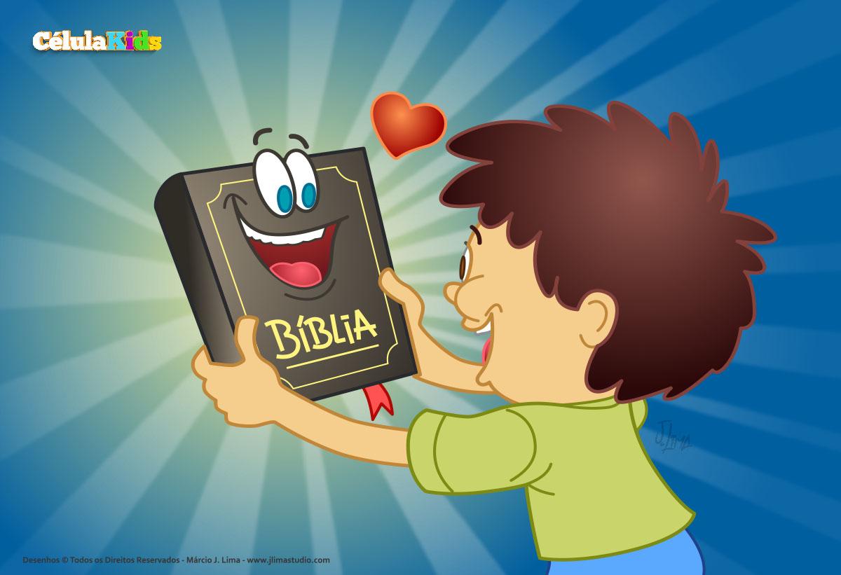 A Bíblia é a Palavra de Deus - Estudos Bíblicos e desenhos para colorir